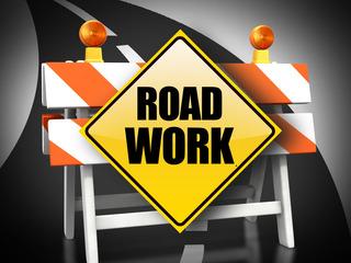 Nighttime lane closures for Truxtun Avenue