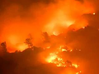 Some evacuation orders lifted for Erskine Fire