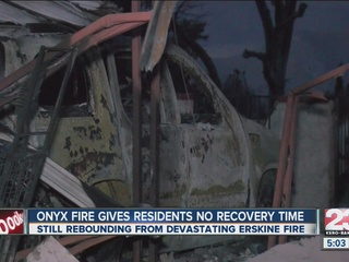 9 displaced by Onyx fire, 3 hospitalized
