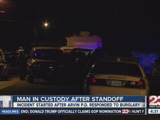 1 in custody following hours-long standoff