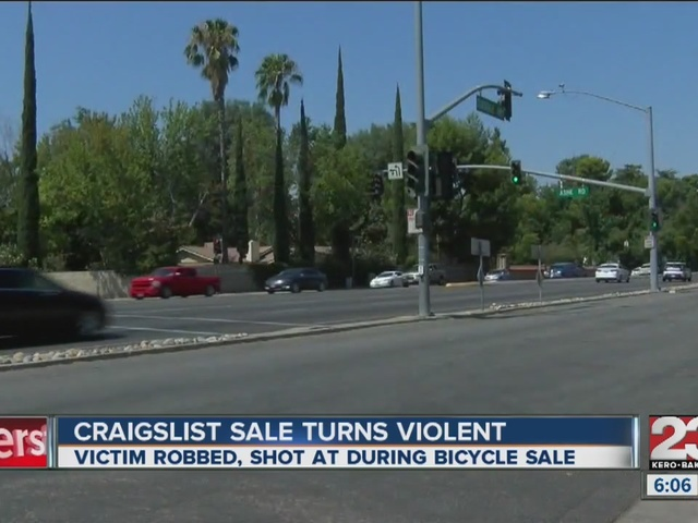 Person selling their bicycle on Craigslist s robbed