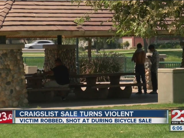 Person selling their bicycle on Craigslist gets robbed ...