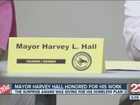 Mayor Hall honored for homeless plan