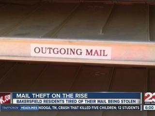 A Taft neighborhood becomes victim of mail theft