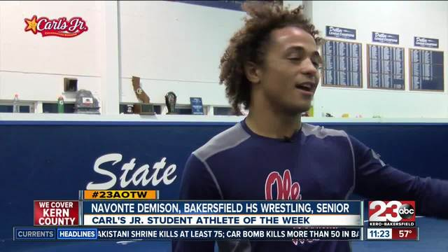 Athlete of the Week- Navonte Demison