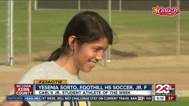 Female Athlete of the Week- Yesenia Sorto