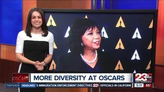 Positive change in Oscars diversity
