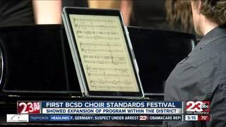 BCSD holds first Choir Standards Festival