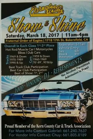 Car Show In Downtown Bakersfield Saturday Free To Public Turnto - Bakersfield car show