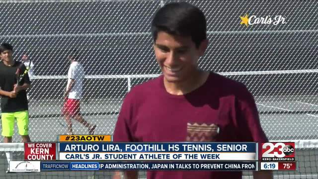 Male Athlete of the Week- Arturo Lira