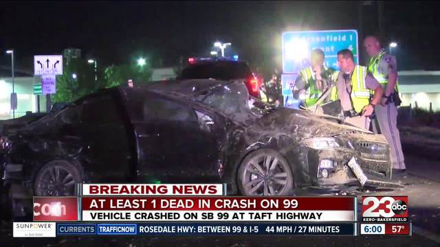 car accident news  One person dead after accident on Highway 99 - turnto23.com ...