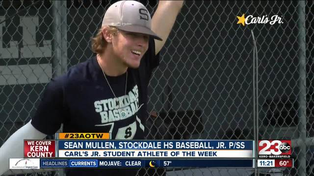 Male Athlete of the Week- Sean Mullen