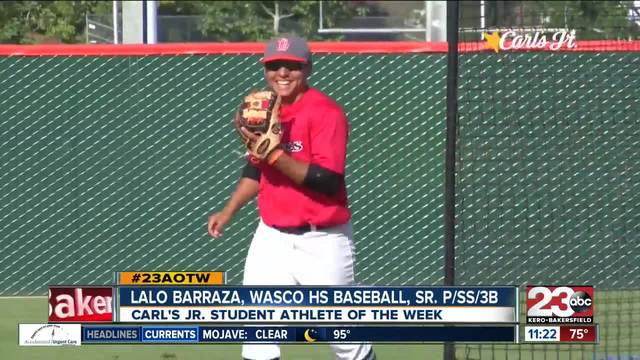 Male Athlete of the Week- Lalo Barraza