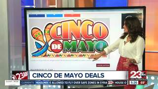 List of Cinco de Mayo Deals