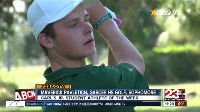 Male Athlete of the Week- Maverick Pavletich