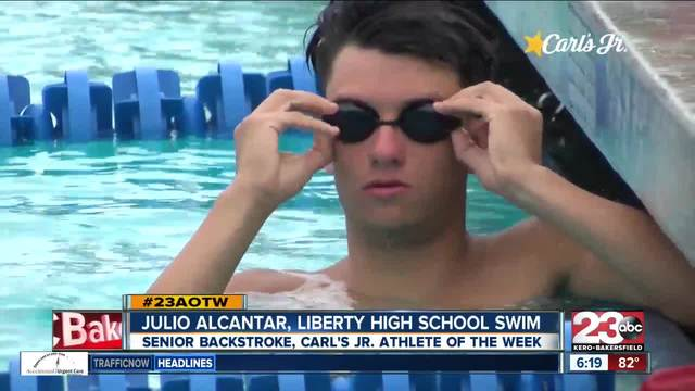 Male Athlete of the Week- Julio Alcantar