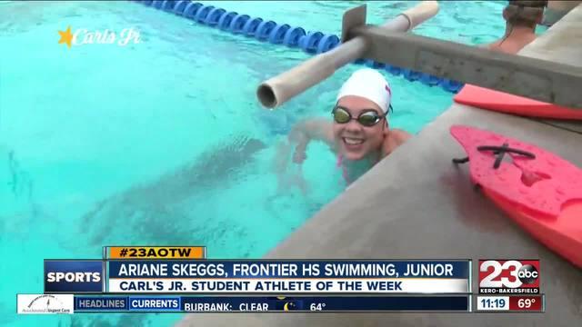 Female Athlete of the Week- Ariane Skeggs