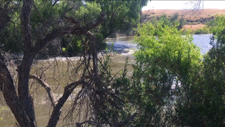 Two people rescued in Kern River on Sunday
