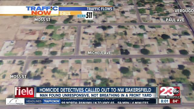 Homicide investigation underway in NW Bakersfield after 32-year-old man…