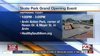 Arvin skate park opens, recognize young leaders