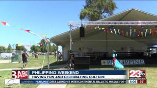 Filipino culture celebration in Delano