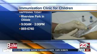 Free immunizations for children today