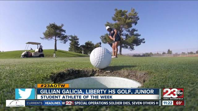 Female Athlete of the Week- Gillian Galicia