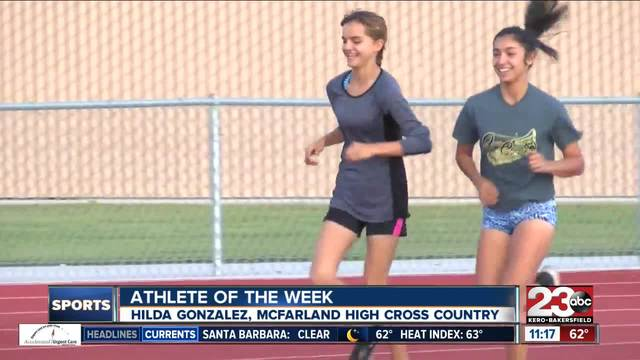 Female Athlete of the Week- Hilda Gonzalez