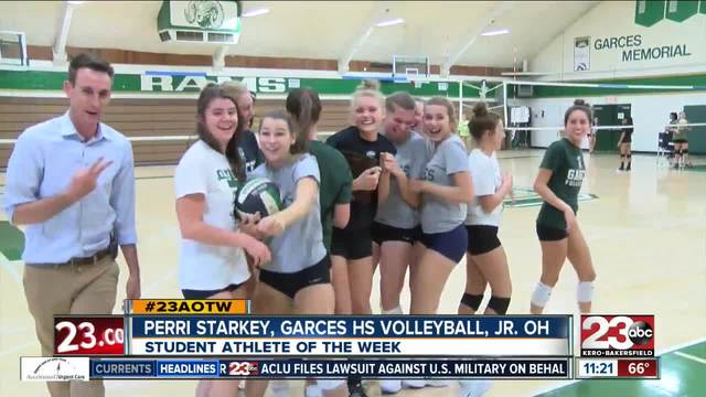 Female Athlete of the Week- Perri Starkey