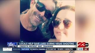 Local man saves lives during Vegas shooting