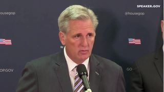 Kevin McCarthy addresses disasters