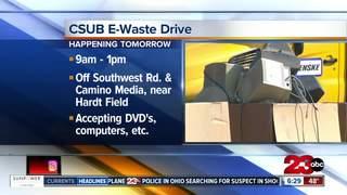 E-Waste Drive at CSUB