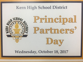 Principal Partners' Day at KHSD