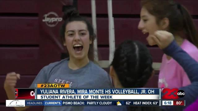 Female Athlete of the Week- Yuliana Rivera