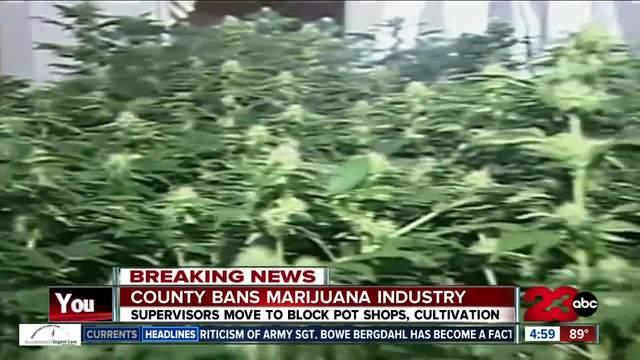 Kern County Board Of Supervisors Discuss Marijuana
