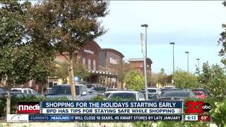 Holiday shopping safety tips from BPD