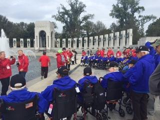 Local heroes visit Washington, D.C. memorials