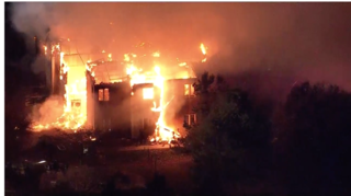 Large fire at nursing home in Pennsylvania