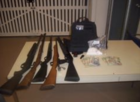 40-year-old man arrested for drug & gun charges