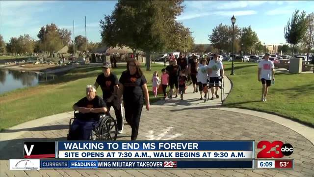 Walk MS- Bakersfield- hosted by the National MS Society to help end MS forever