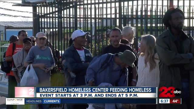 Bakersfield Homeless Center set to host Thanksgiving meal Sunday