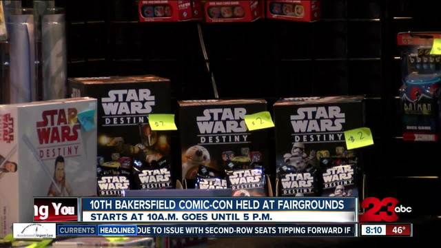 10th annual Bakersfield Comic-Con happening Saturday and Sunday at the…