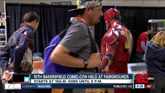 10th annual Bakersfield Comic-Con happening Saturday and Sunday