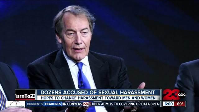 34 men accused of sexual harassment