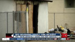 BFD reviewing actions after deadly fire