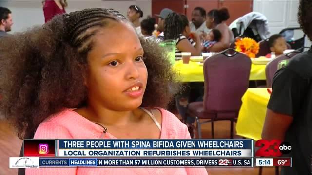 Wheels 4 Bakersfield donates wheelchairs to 3 recipients