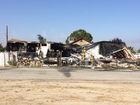 Trailer home in Tupman destroyed by fire