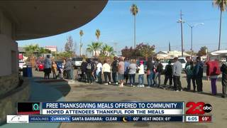 Free Thanksgiving meals offered to community