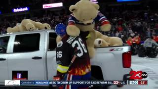 Teddy Bear Toss sees record numbers