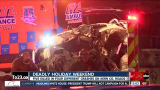 Deadly Thanksgiving weekend on our roads